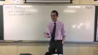 Quadratic Identities (1 of 4: LHS to RHS)