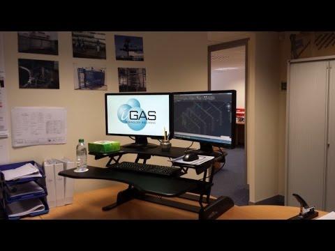 Standing Desk Ergonomics standing desk ergonomics - youtube