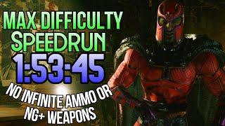 Village of Shadows Difficulty || Resident Evil 8 Village Speedrun (1:53:45 LTR)