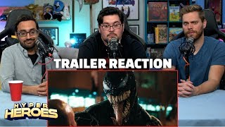 VENOM - Official Trailer Reaction