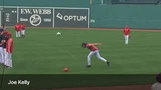 Chris Sale, Eduardo Rodriguez, Craig Kimbrel and other Red Sox pitchers play soccer (June 27, 2018)