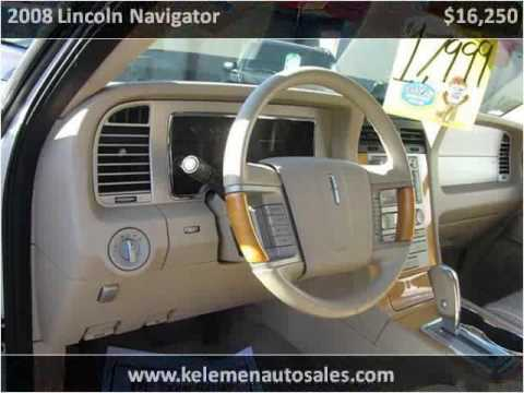 2008 lincoln navigator used cars high point nc youtube. Black Bedroom Furniture Sets. Home Design Ideas
