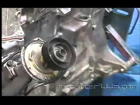 Ajuste de Motor NISSAN 2.4 6a parte - Colocando la tapa de distribución 1