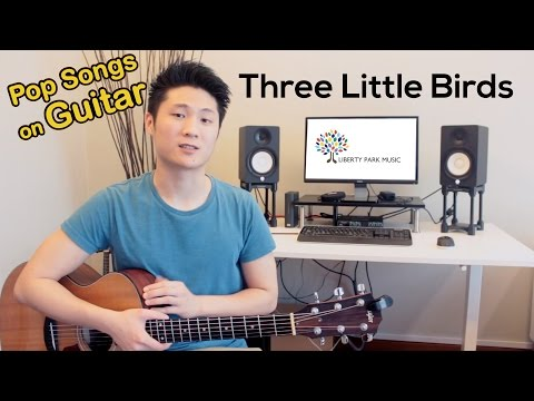 Three Little Birds (Easy/Beginner Song With Guitar Chords)