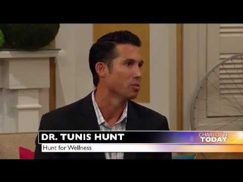 Dr Tunis Hunt discusses Stress and Weight Loss