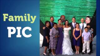 Wedding face cutouts by Build-A-Head for photo fun. The largest big head supplier.