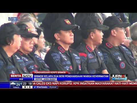 Perwira Tinggi Polri dan Warga Sipil Raih Warga Kehormatan