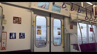 東京メトロ半蔵門線【18000系】車内 東武スカイツリーライン 越谷⇒せんげん台