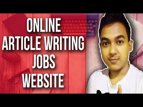 Online Article Writing Jobs Website |Work From Home Without Investment|
