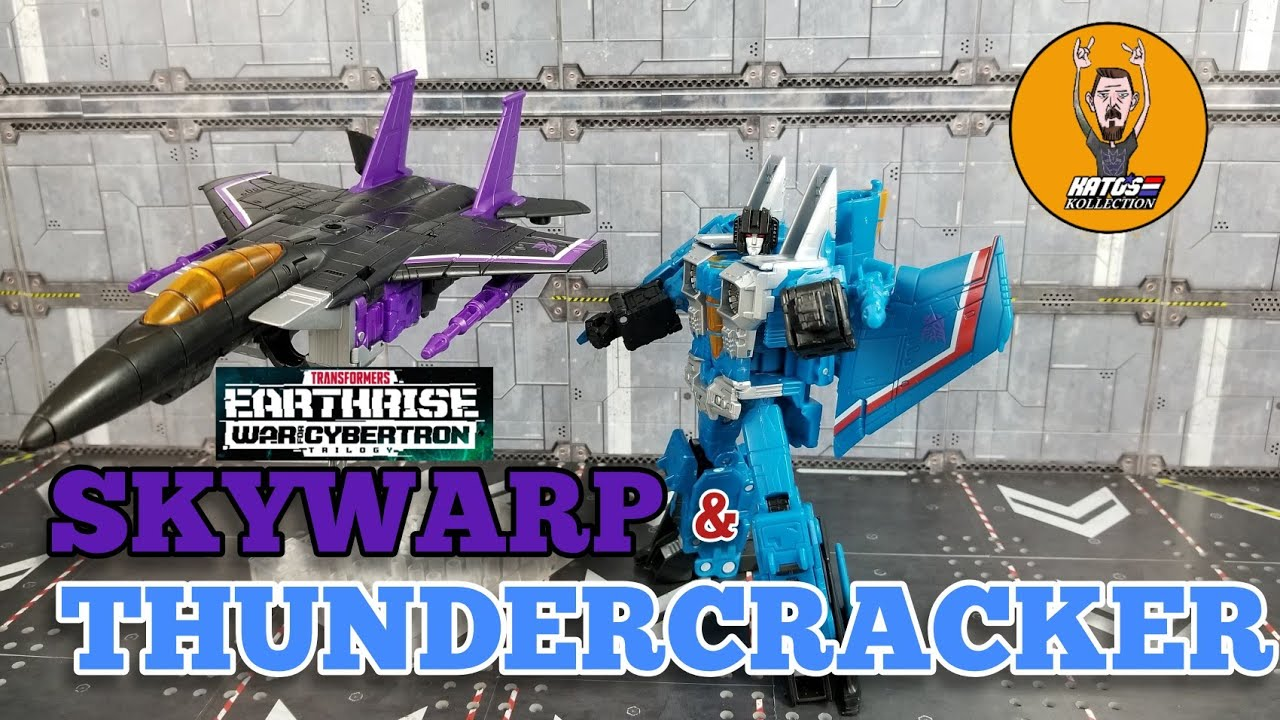 Earthrise Skywarp and Thundercracker review By Kato's Kollection