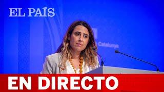 DIRECTO #CATALUÑA   Rueda de prensa tras el Consell del Govern