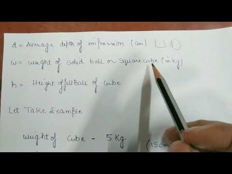 How to Find Bearing capacity of soil on  construction site