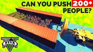 CAN YOU PUSH 200 PEOPLE IN GTA 5?