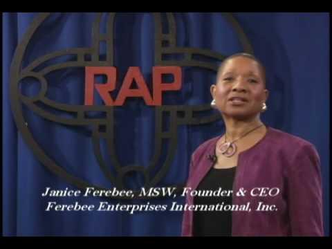 Janice Ferebee - RAP Inc. 40th Anniv. PSA