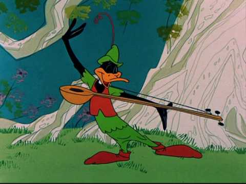 "Robin Hood Daffy - ""To trip, to tripping up and down"""
