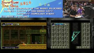 Summer Games Done Quick 2014 - Part 64 - Castlevania: Symphony Of The Night