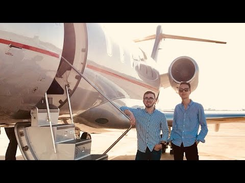 Flying to Ibiza on a Private Jet | GoPro - 4K