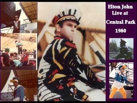 ELTON JOHN CENTRAL PARK COMPLETE SHOW 1980