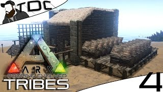 ARK SURVIVAL EVOLVED | KIBBLE FARM START! | Episode 4 (Gameplay Pooping Evolved Server)