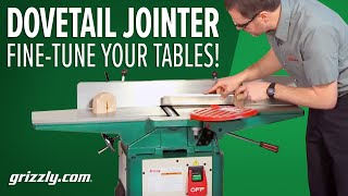 How-To Fine Tune a Jointer with Dovetail Slides