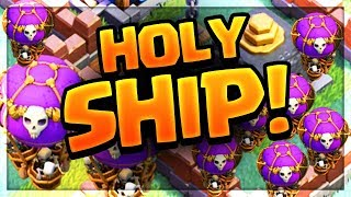 Drop Ship Strategy! Builder Hall 7 MAX Defenses vs. the Drop Ship in Clash of Clans UPDATE!
