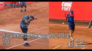 FINAL: Michael MMOH (USA) [3] vs Seong Chan HONG (KOR) [4]