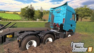 STUCK IN THE MUD AGAIN - Shamrock Valley 19 - Farming Simulator 2019