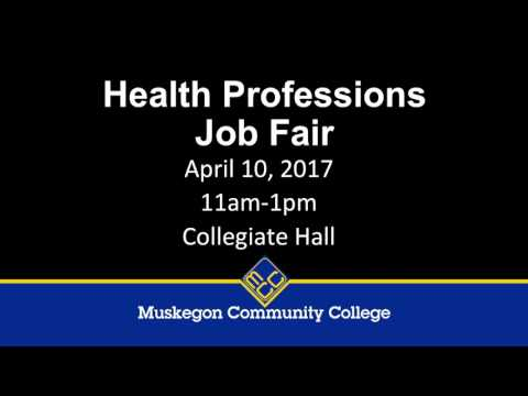 Health Profession Job Fair 2017