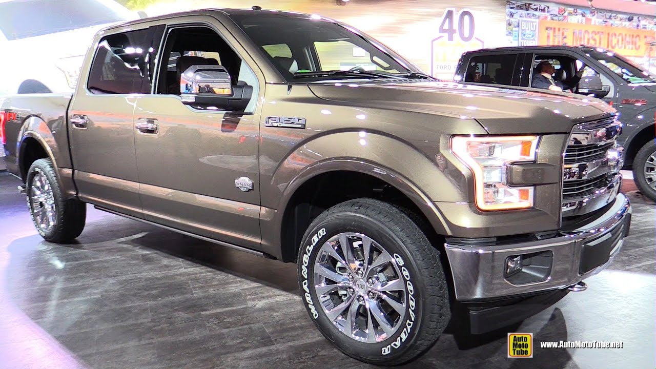 2017 Ford F150 King Ranch Exterior And Interior Walkaround Detroit Auto Show