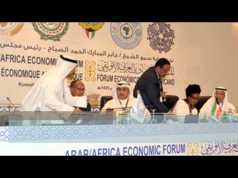 Waraysi VOANEWS  Faisal Hawar CEO of MRC about 3rd Arab Africa Economic Forum