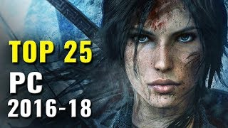 Top 25 PC Games of 2016, 2017 & 2018