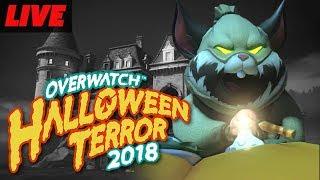 Overwatch Halloween of Terror Event 2018 Live