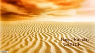 Carter  Nature & Naturaleza - Happy Birthday