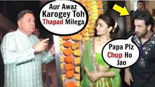 Baixar Rishi Kapoor ANGRY On Media In FRONT Of Son Ranbir Kapoor & Alia Bhatt @Diwali Party 2019