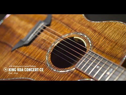 Breedlove Limited Edition 30th Anniversary King Koa Concert CE