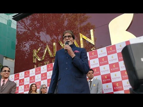 307217b6f90 Live  Amitabh Bachchan Arrives in Delhi for Inauguration of Kalyan  Jewellers Flagship Outlet