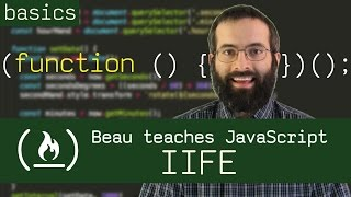 Immediately Invoked Function Expression - Beau teaches JavaScript