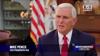 Interviu exclusiv cu Mike Pence despre Israel
