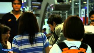 130918 P'Tik Jasdaporn Pholdee @Suvarnabhumi Airport (Go to Switzerland for shooting drama)