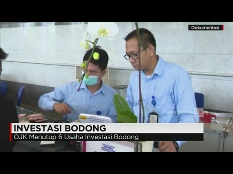 OJK Menutup 6 Usaha Investasi Bodong
