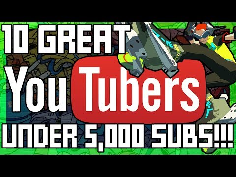 10 Amazing Gaming YouTubers Under 5,000 Subs - SGR