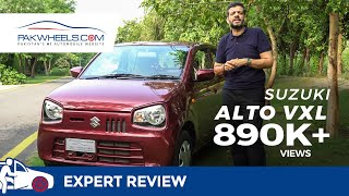Suzuki Alto VXL 2019 Expert Review: Price, Specs & Features | PakWheels