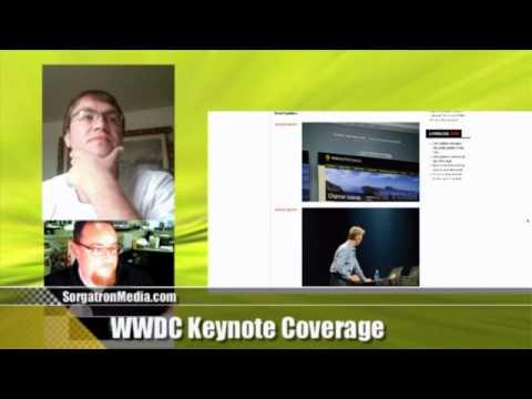 SorgatronMedia.com WWDC 2012 Keynote Coverage