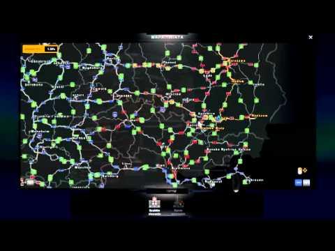 Euro Truck Simulator 2 Mapa Nowa Youtube