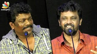 I came here instead of 2.0 Audio Launch because... : Parthiban, Cheran Speech | 6 Athiyayam