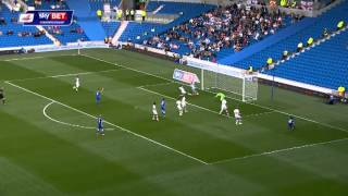 Brighton v Bolton - Sky Bet Championship Highlights 2014/2015
