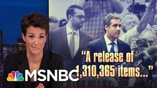 Michael Cohen's New Legal Strategy | Rachel Maddow | MSNBC