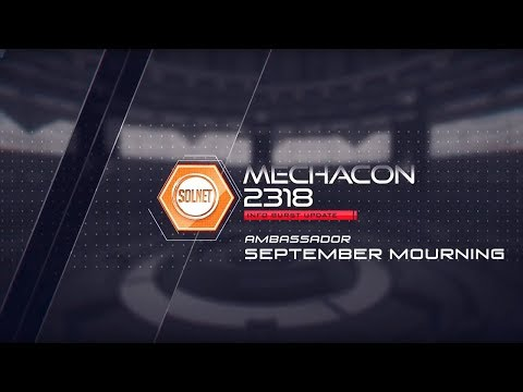 MechaCon Proudly Welcomes Musical Ambassador September Mourning | July 27 - 29, 2018