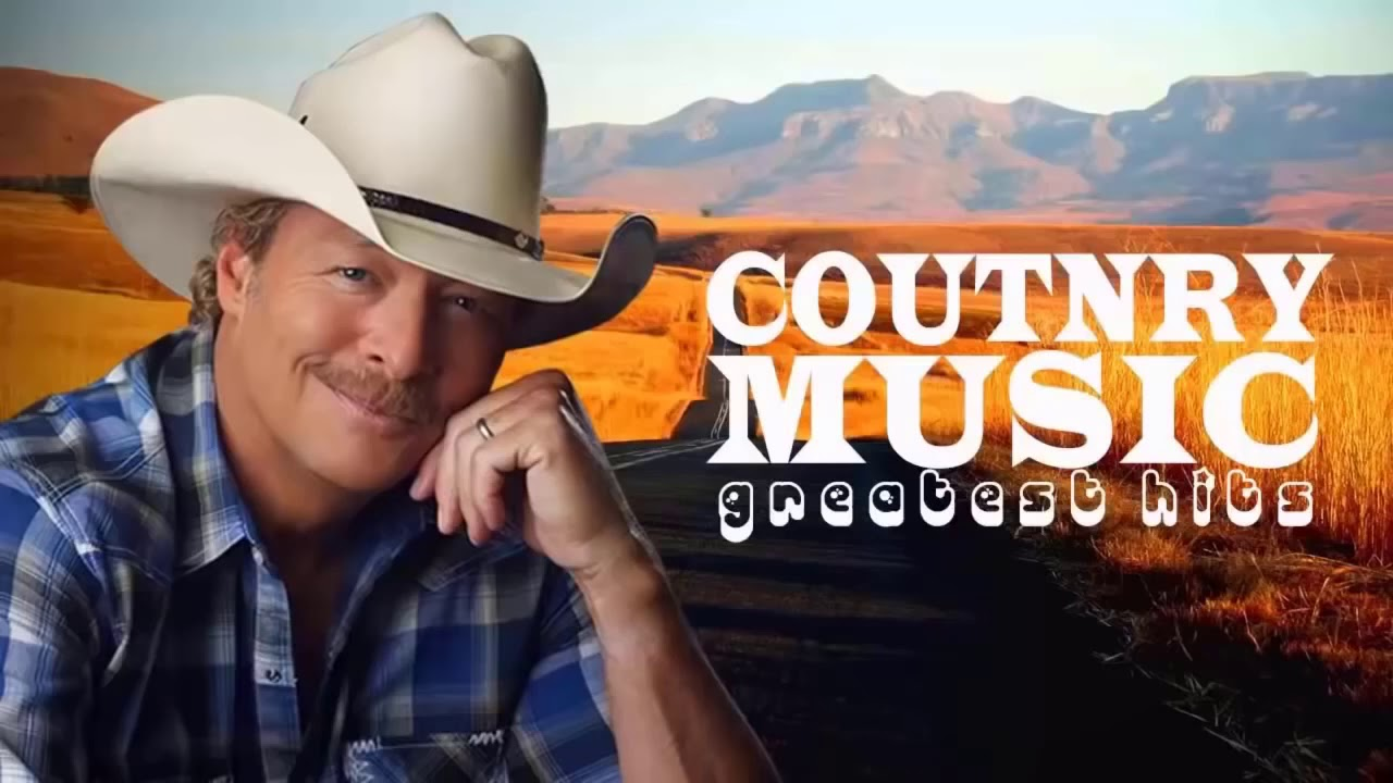John Denver, Kenny Rogers, Alan Jackson, George Strait Best Of - Best Country Songs Of All Time