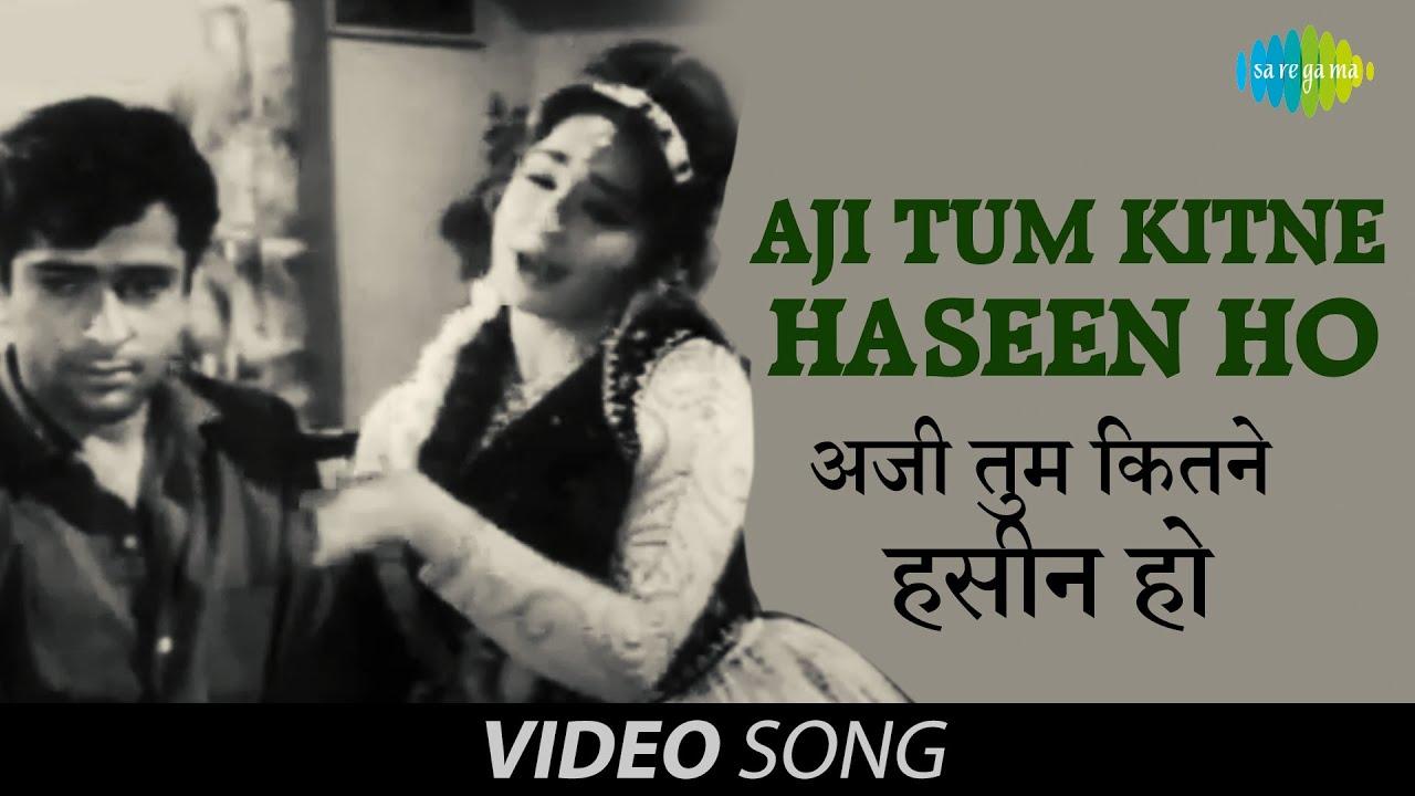 Aji Tum Kitne Haseen Ho | Official Video | Mohabbat Isko Kahte Hain | Shashi Kapoor, Nanda | Asha B